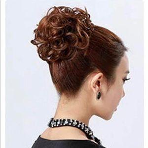 Messy Bun Hair Piece Thick Updo Scrunchies